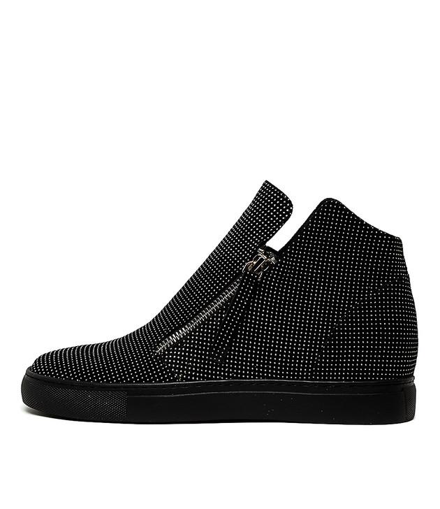 GAETANO  Black Pewter Leather