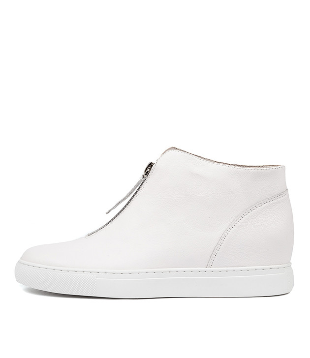 GERTHA  White Leather