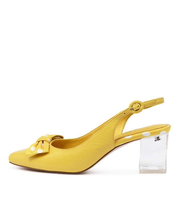 HALM  Yellow Spot Leather