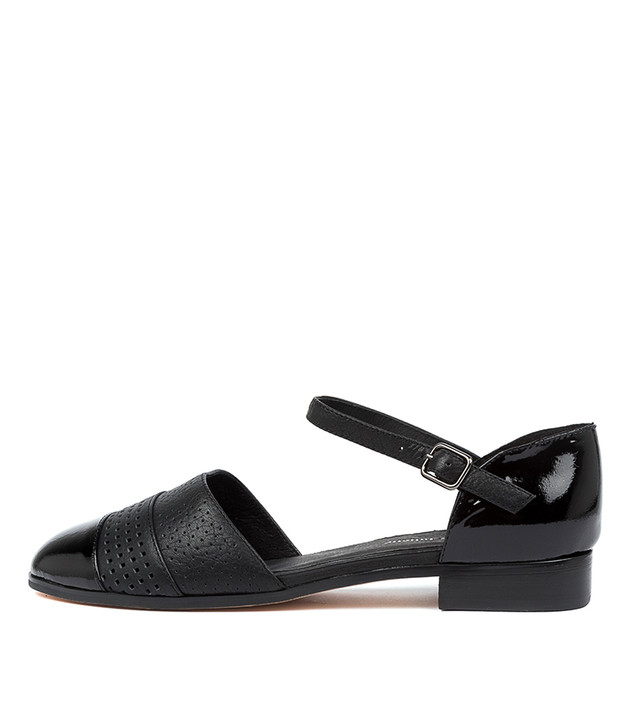 JILES  Black Patent Leather
