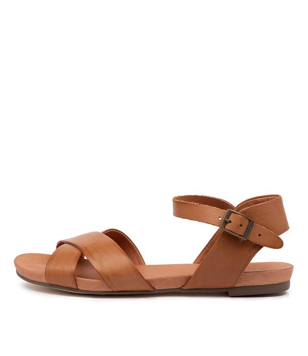 JAYLIN Dark Tan Leather