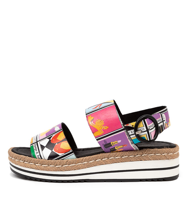 ATHA Sandals Print Leather