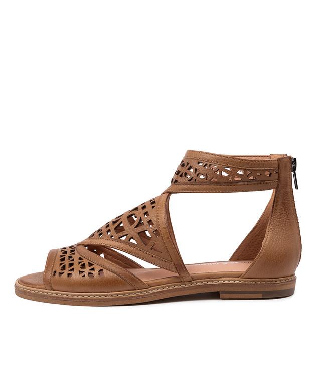 NEVAEH Dark Tan Leather