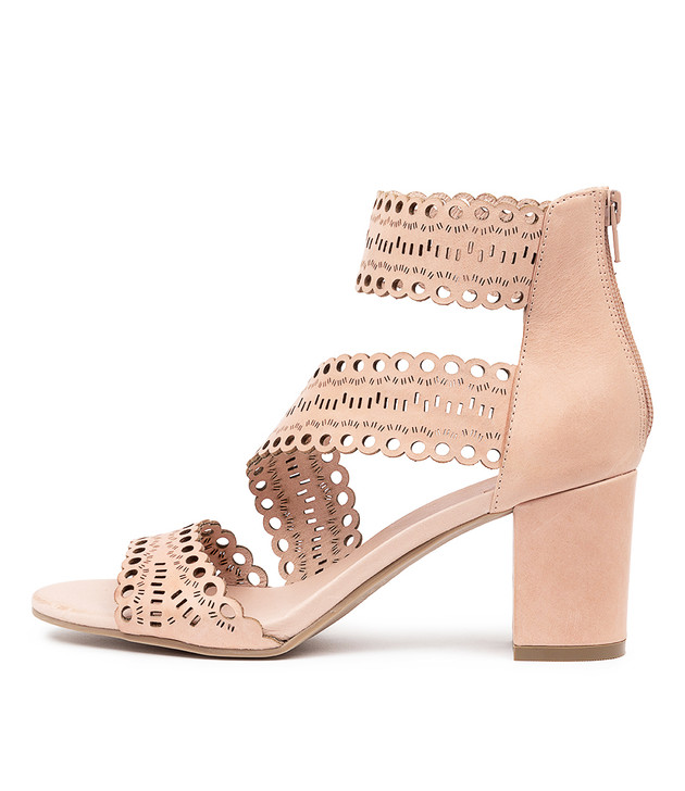 SHEP Sandals Nude Leather