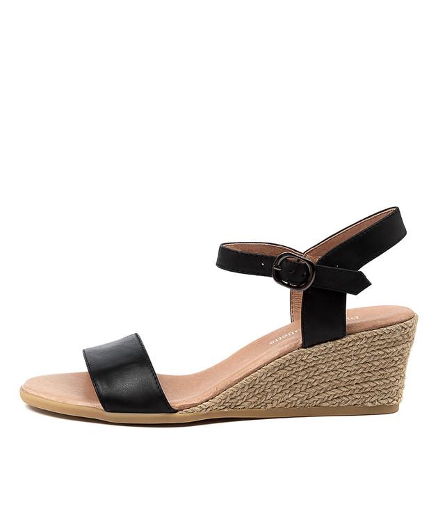 BROOK Sandals Black Black Leather