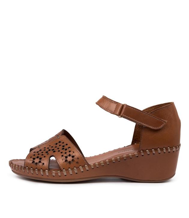 MUSA Flats Tan Leather