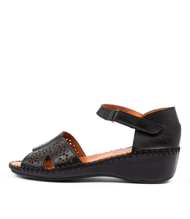 MUSA Flats Black Leather