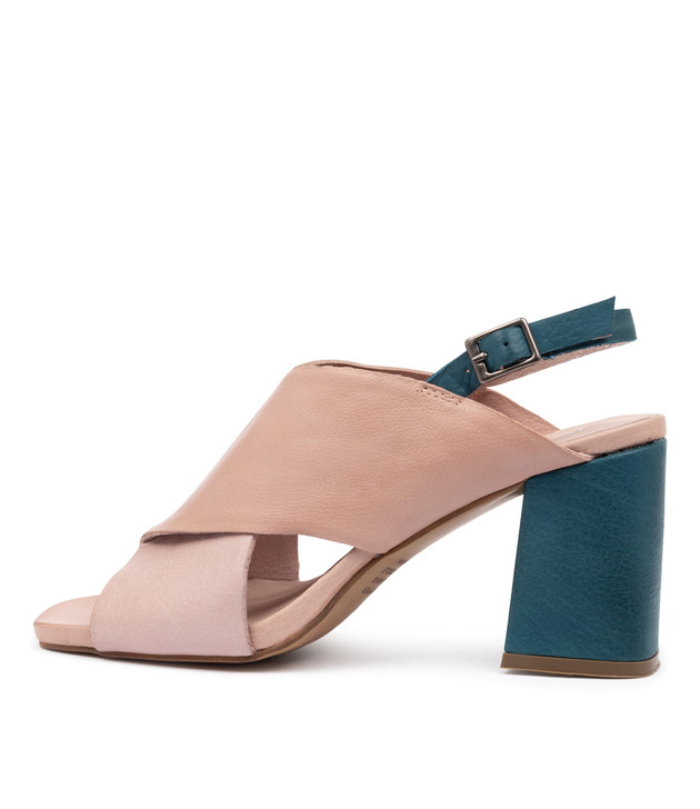 RUDOLF Sandals Dusty Pink Cafe Multi Leather