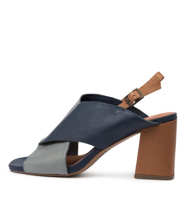 RUDOLF Sandals Steel Navy Multi Leather