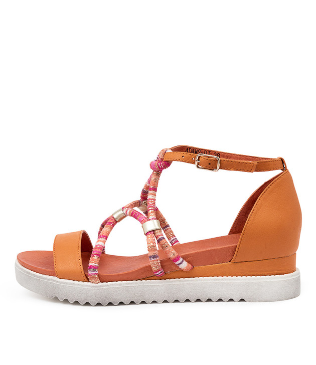ADAMS Sandals Orange Multi