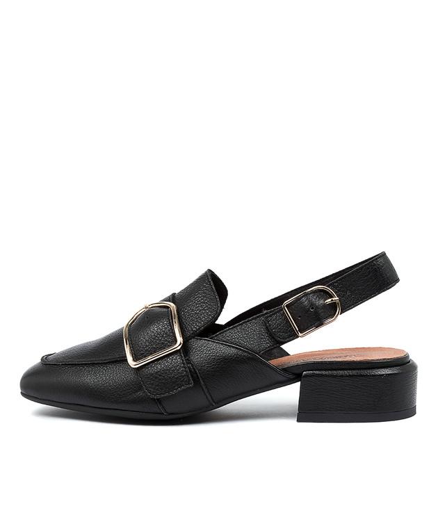 VALRAY Black Gold Trim Leather