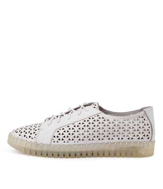 HARROLD White Leather