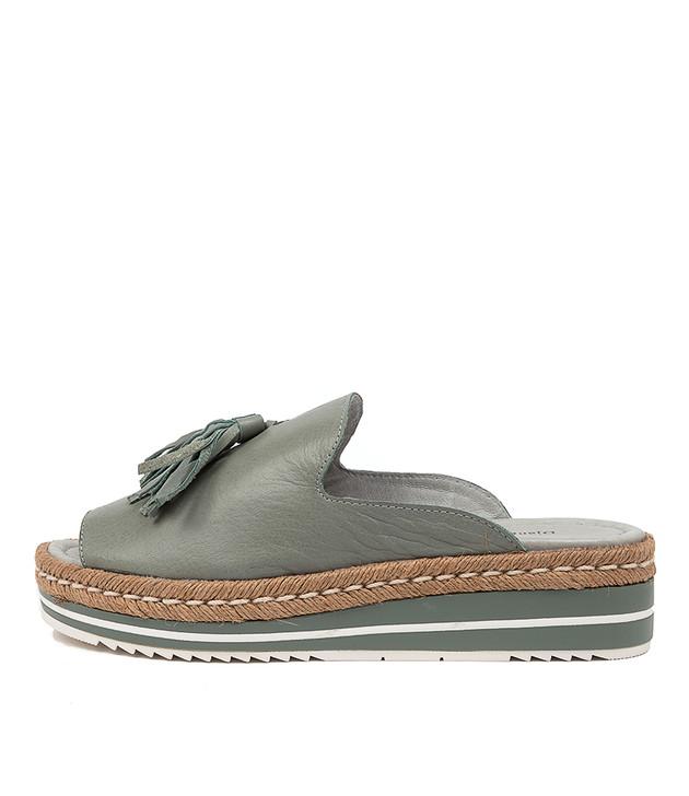 AYDEN Sandals Steel Leather