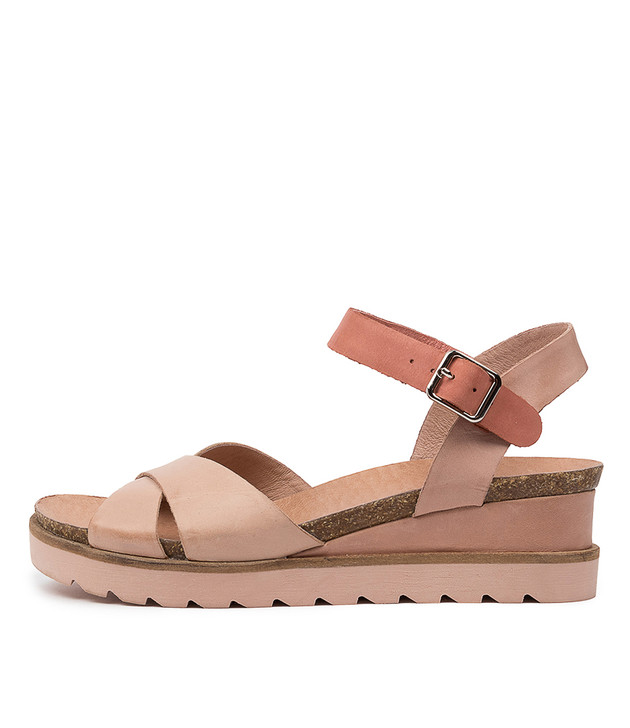 BLAINE Nude Coral Leather