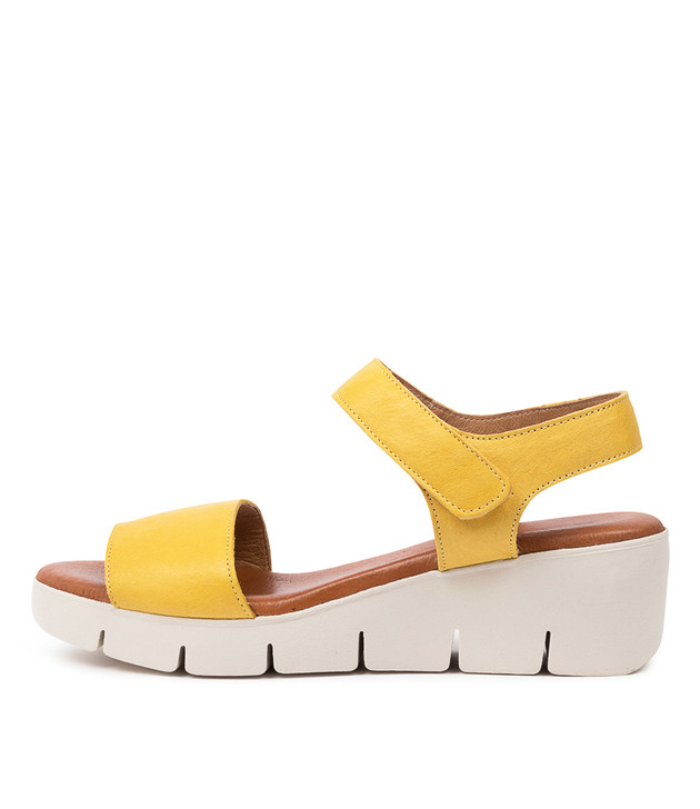 GINES Yellow Leather