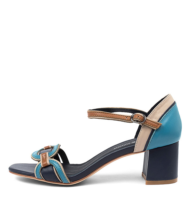 POLLECT Navy Multi Leather
