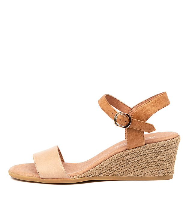 BROOK Nude Tan Leather