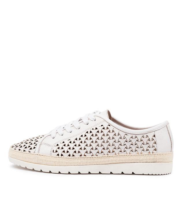 ARNETT White Leather