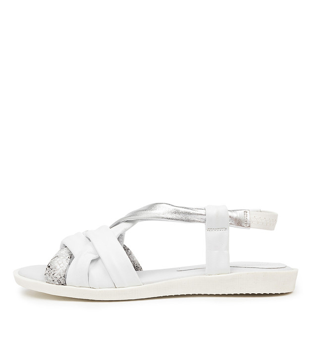 MAFRA White Multi Leather