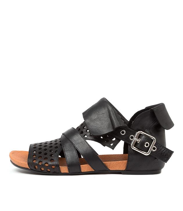 DWAN Black Leather