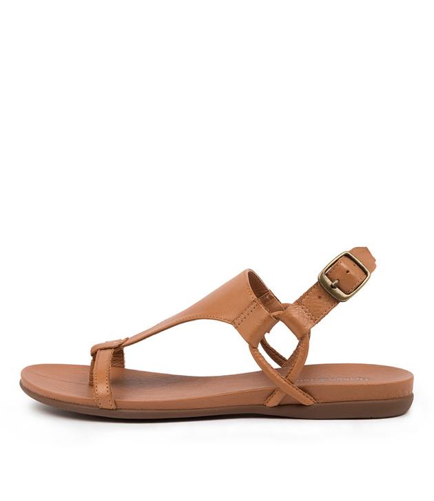 BARISHA Dark Tan Leather