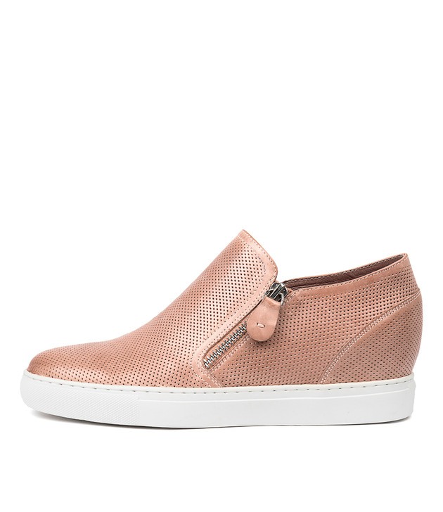 GUSTAVA Blush Leather