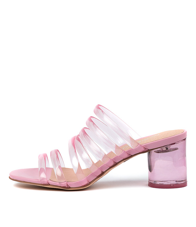 SHAFTER Pink Vinylite Pink Leather