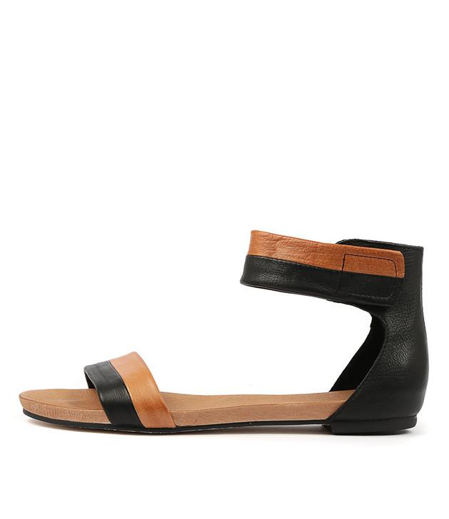 JEROLD Black Tan Leather