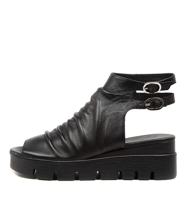 ROMIE Black Leather