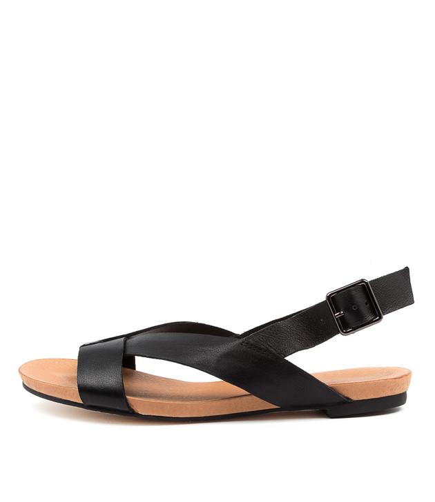 JEREME Black Leather
