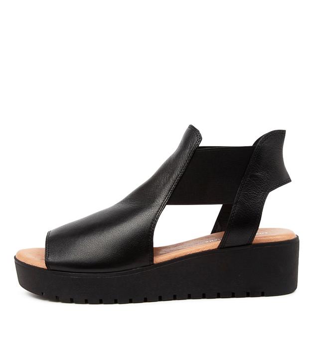 OZIE Black Leather