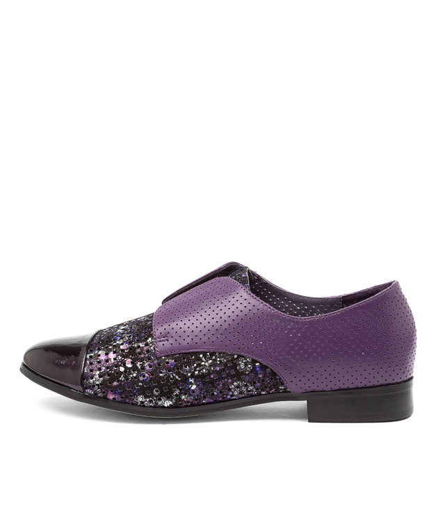 JACCA Purple Multi Leather