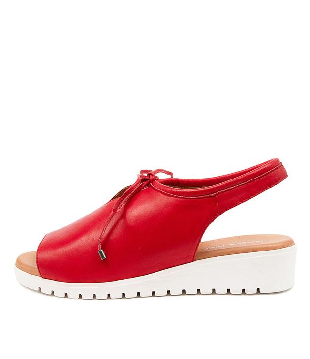 MONIQUE Red Leather