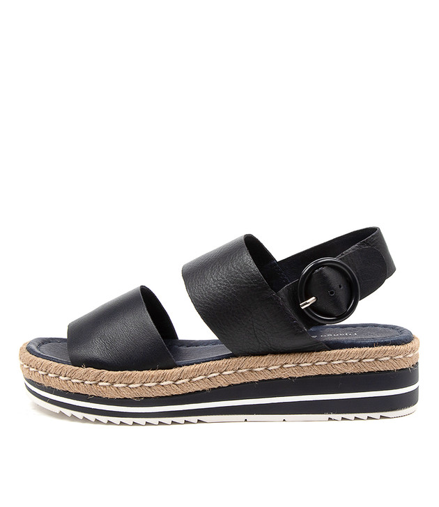 ATHA Navy Leather