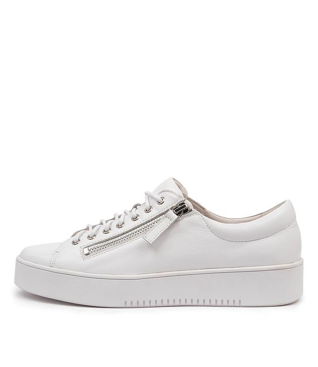 LAILA White Leather