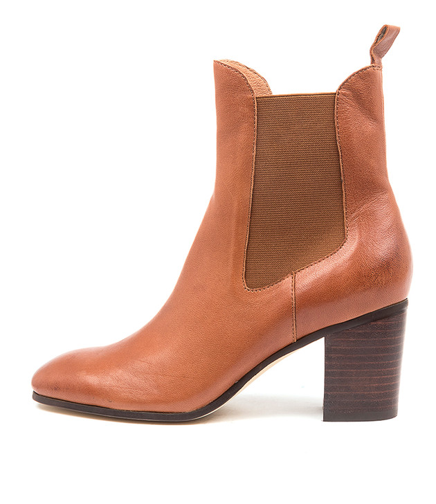 TOMBACK Cognac Leather