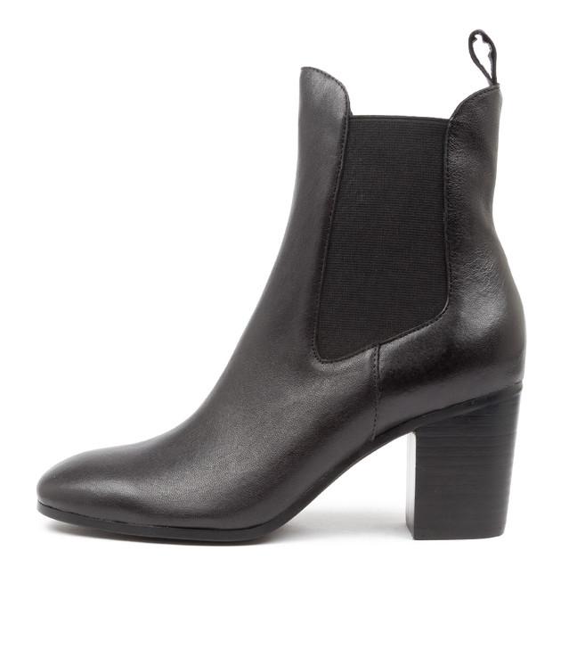 TOMBACK Black Leather