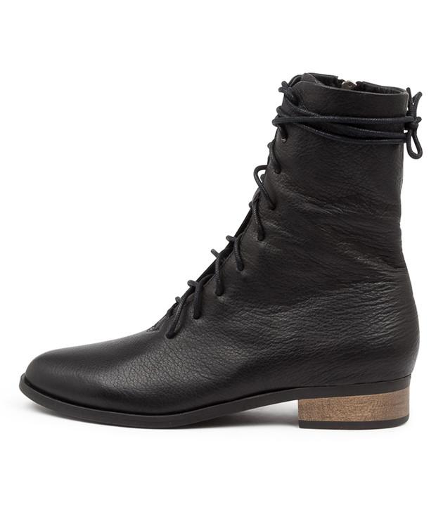 IMBALMS Black Leather