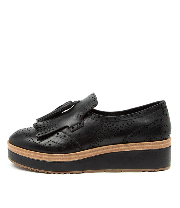 CORDER Black Leather
