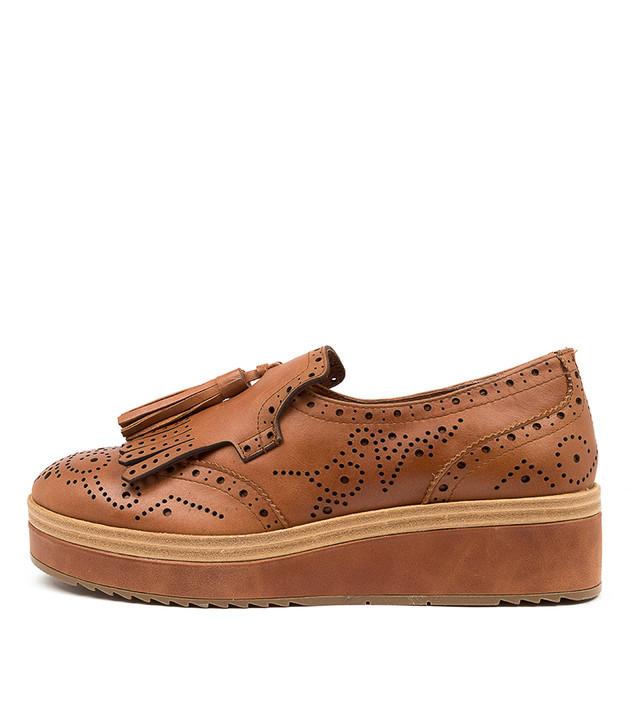CORDER Tan Leather