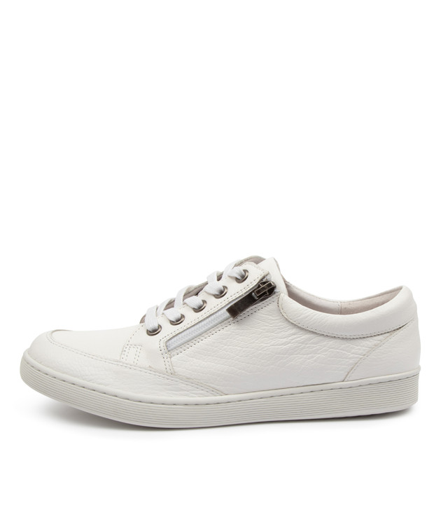 DUGGY White Leather