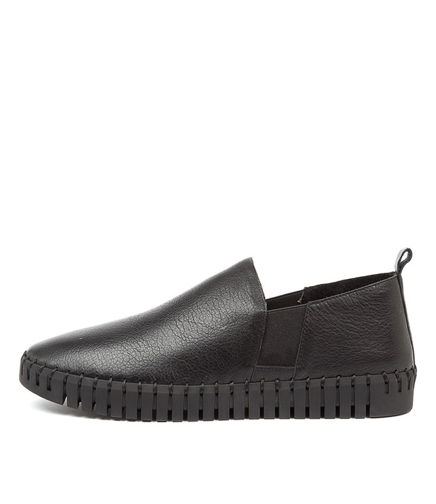 HONKEY Black Leather