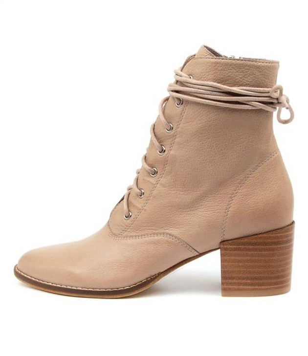 MATZA Boots in Warm Rose Leather