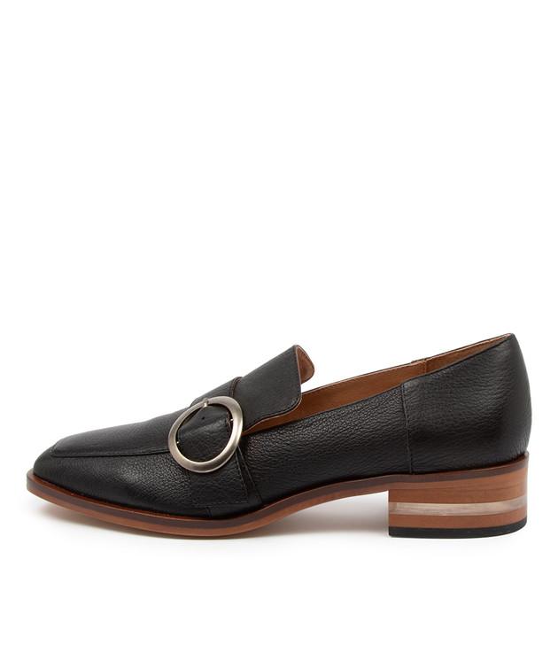 FARRAH Black Leather