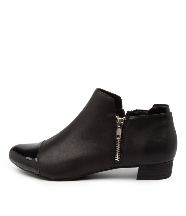 ENJAY Black Patent Leather