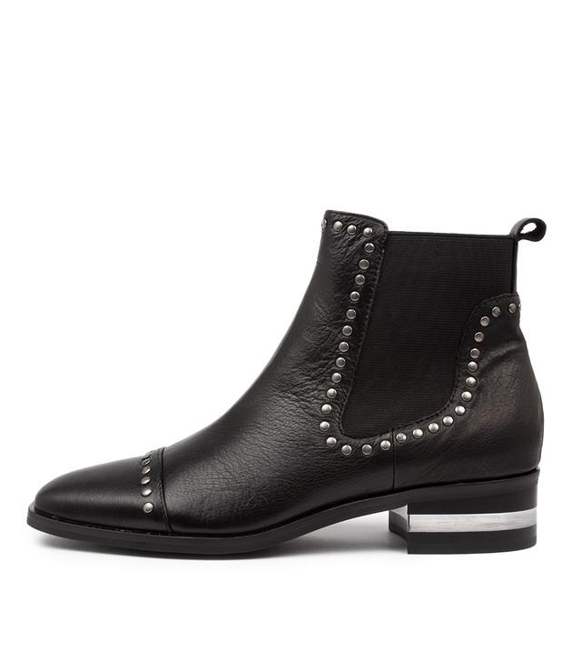 FERRAS Black Leather