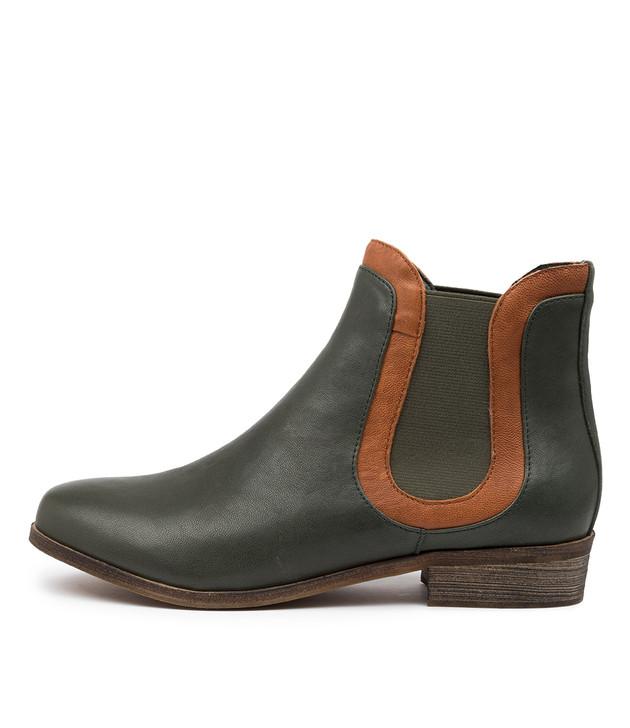 SAFFI Forest Tan Leather