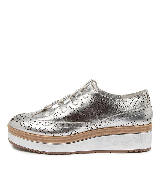 CLARA Silver Leather