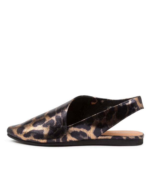 CODIE Ocelot Print Leather