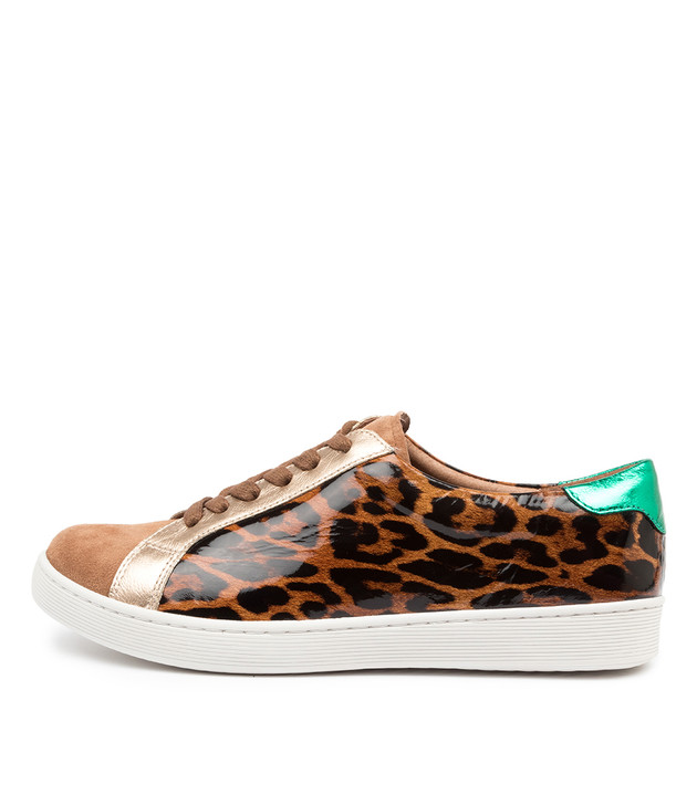 DAJA Leopard Leather